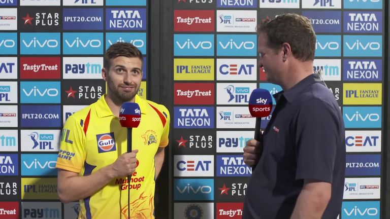 Wood featured just once for the Chennai Super Kings during his time in the IPL