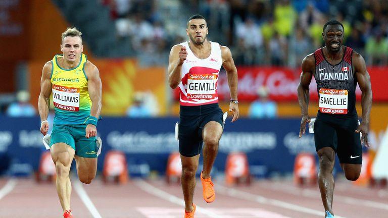 Adam Gemili ran a time of 10.11 seconds in the 100m semi-finals
