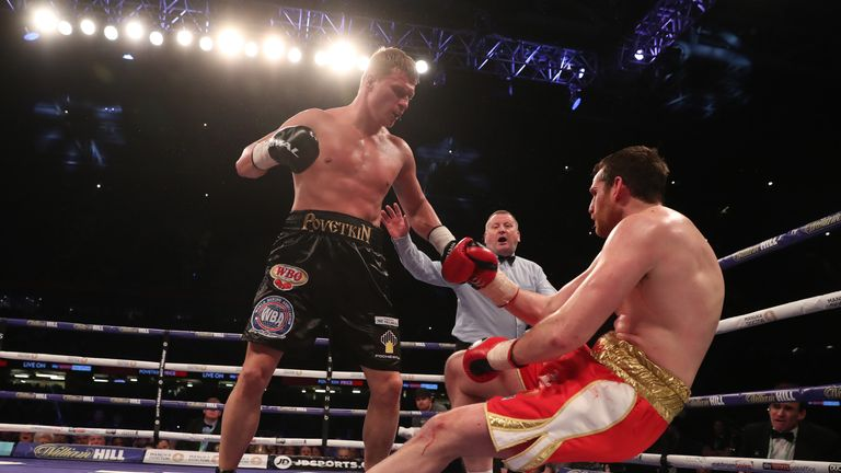 Povetkin knocked out David Price in the fifth-round on his return last month