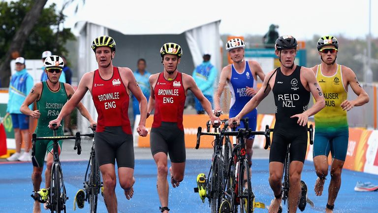Jonny and Alistair Brownlee failed to shine during the men's triathlon