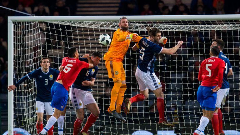 McGregor has won 38 caps for Scotland