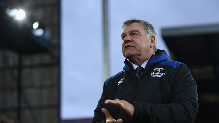 during the Premier League match between Everton and Newcastle United at Goodison Park on April 23, 2018 in Liverpool, England.