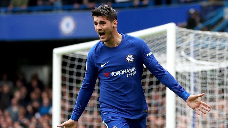 Alvaro Morata scored Chelsea's goal against Spurs