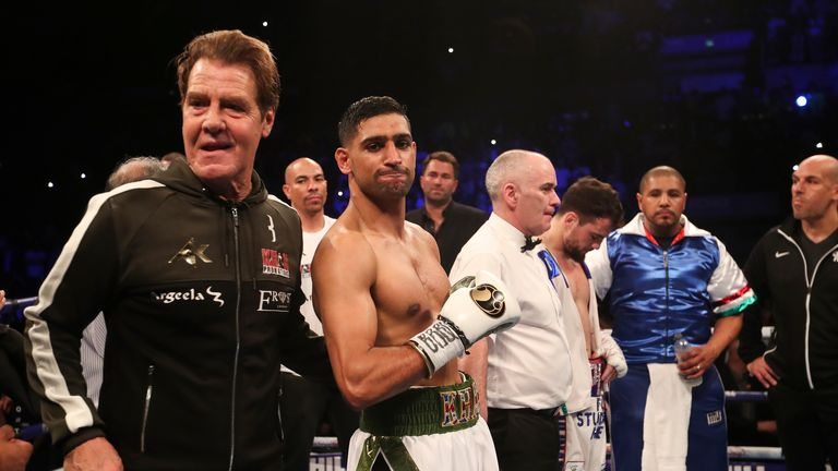 Goossen will be in Khan's corner for the second time
