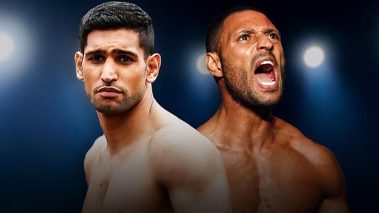 Amir Khan and Kell Brook ***DO NOT USE FOR NEWS STORIES, SAVE FOR FEATURE****