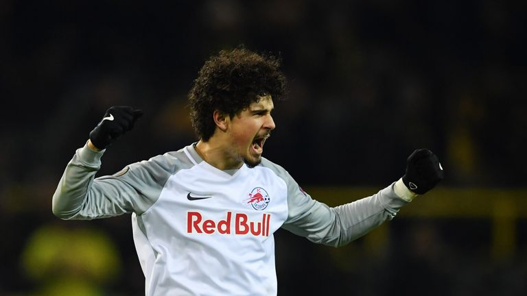 Andre Ramalho during the UEFA Europa League Round of 16 match between Borussia Dortmund and FC Red Bull Salzburg at the Signal Iduna Park on March 8, 2018 in Dortmund, Germany.