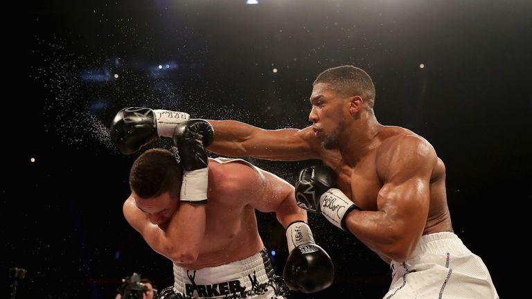 Joshua went the distance against Joseph Parker