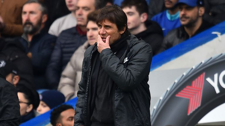 Antonio Conte's Chelsea now look set to be consigned to a Europa League place next season
