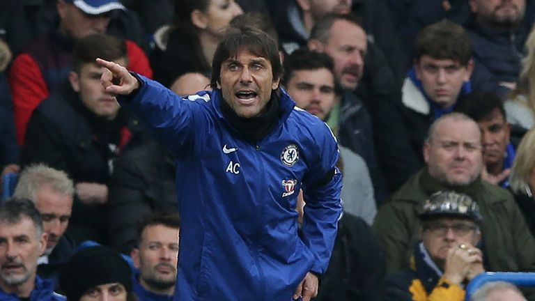 Conte refused to be drawn on his future as Chelsea boss