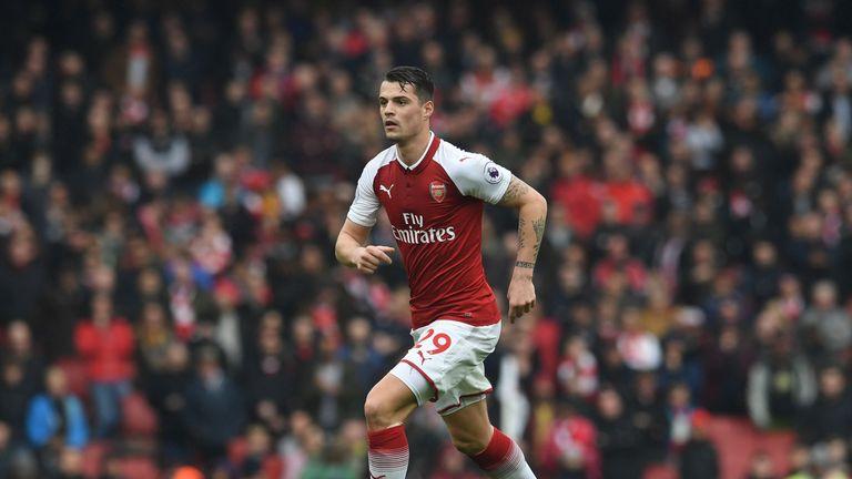 Granit Xhaka Signs New Arsenal Contract As Unai Emery