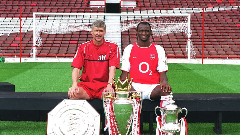 Patrick Vieira has been tipped by some to replace Arsene Wenger