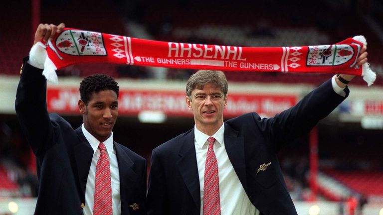 Arsene Wenger signed Nicolas Anelka for Arsenal back in 1997
