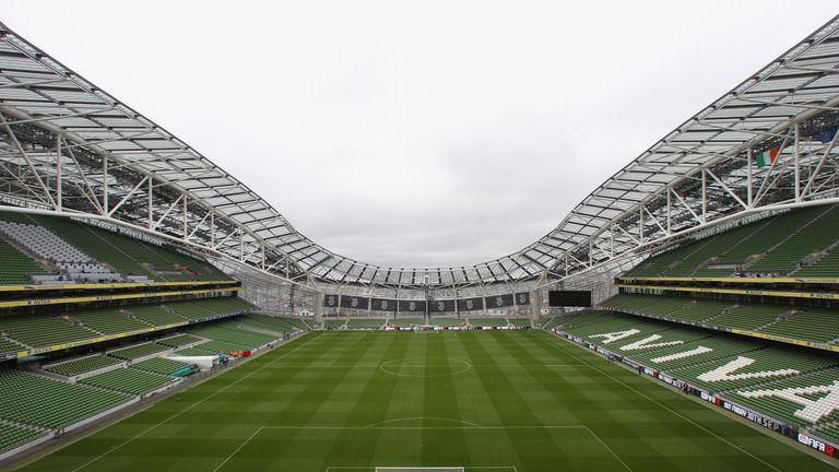 Liverpool will face Napoli at the Aviva Stadium