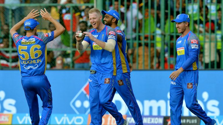 Ben Stokes starred for Rajasthan Royals at last year's IPL (Credit: AFP)