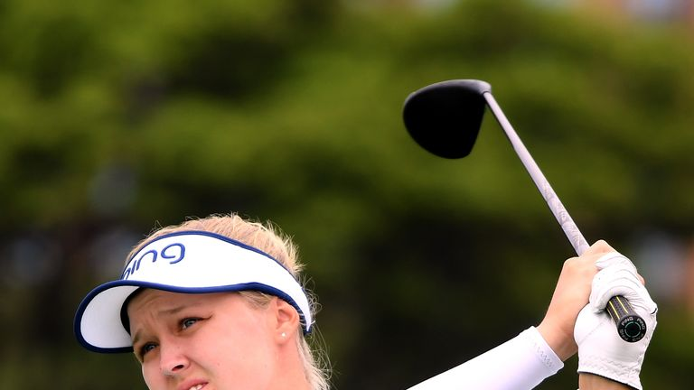 Henderson's victory is her first of the LPGA Tour season