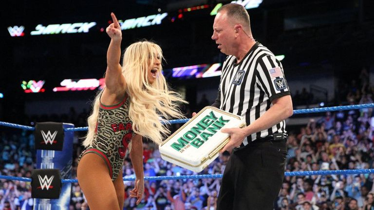 Carmella eventually successfully cashed in her Money In The Bank contract after holding it for a record 287 days