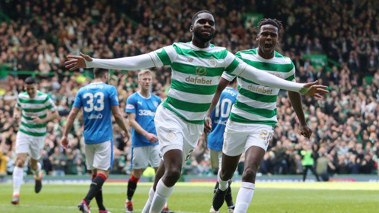Edouard celebrates putting Celtic in front
