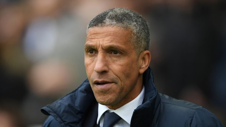 Chris Hughton's Brighton have lost only four home games all season