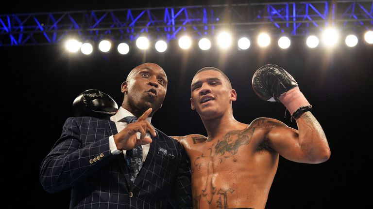 Conor Benn has welcomed guidance of father Nigel ahead of Saturday's fight