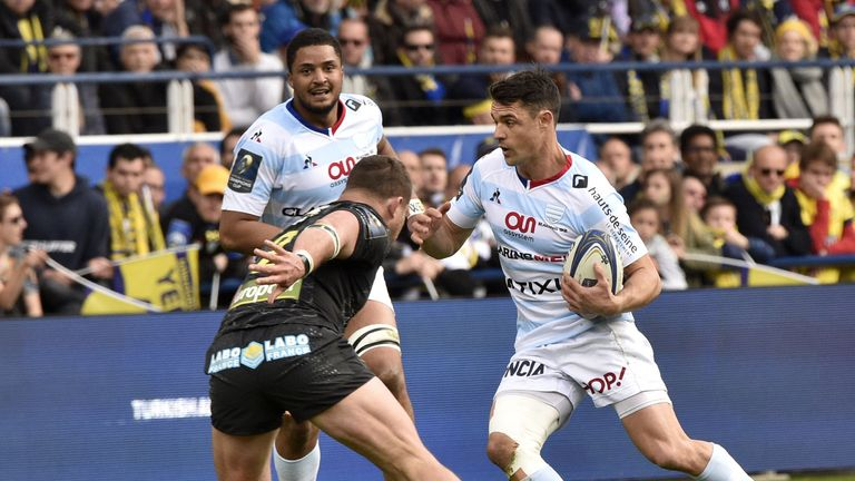Dan Carter proved typically influential when he entered off the bench for Racing