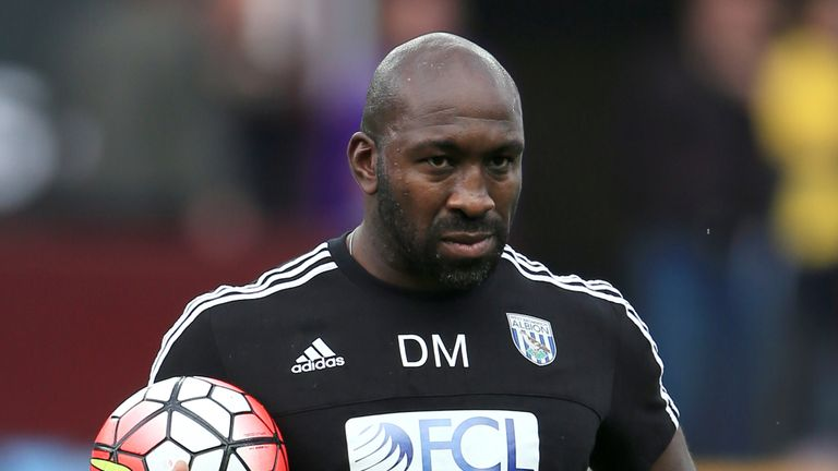 Darren Moore was made first-team coach by Alan Pardew before taking over this week