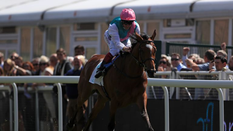 Enable won the Cheshire Oaks at Chester in 2017 and went on to take Oaks, King George and Arc de Triomphe