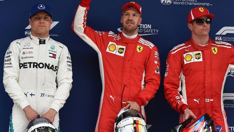 Vettel i pole position
