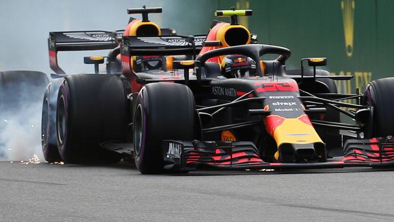 Max Verstappen, Daniel Ricciardo reprimanded for all-Red