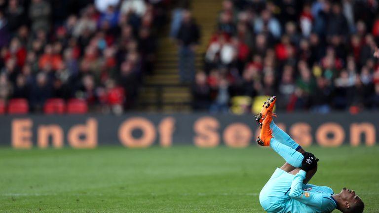 Junior Stanislas suffers a season-ending injury against Watford