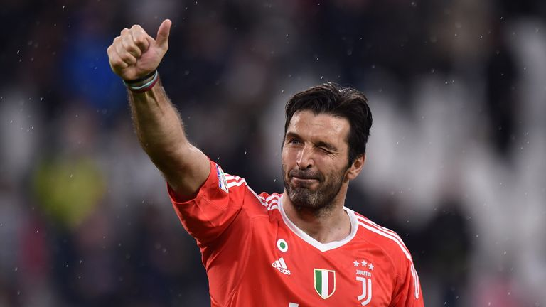 Gigi Buffon will make his final appearance for Juventus on Saturday