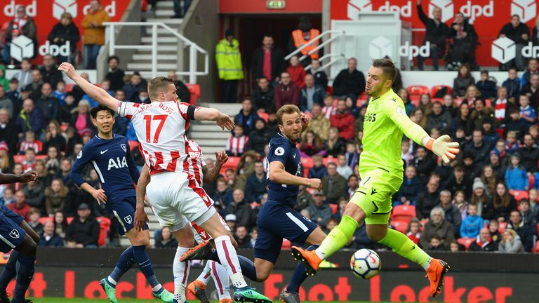 Tottenham have lodged an appeal over the awarding of their second goal against Stoke