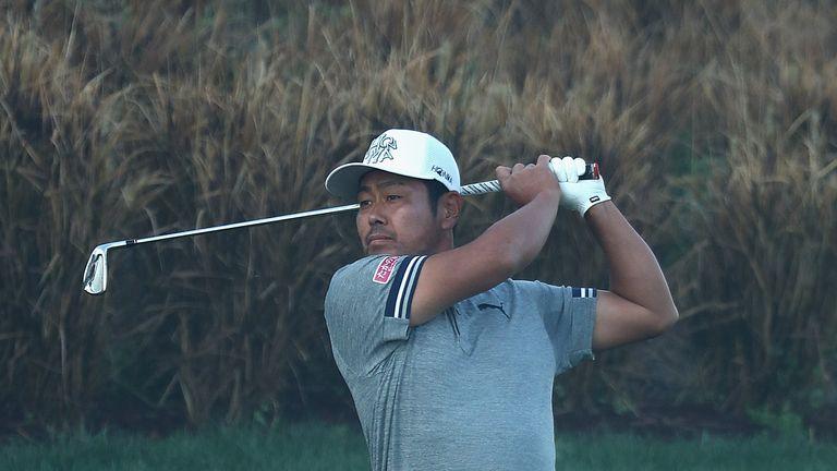 Tanihara bogeyed his final two holes