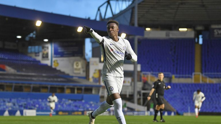 Hudson-Odoi sent a timely reminder to Antonio Conte in the FA youth cup