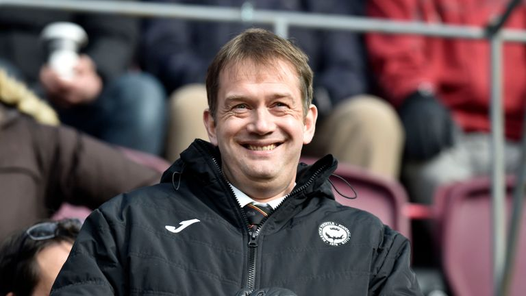 Ian Maxwell has been Managing Director at Partick Thistle since 2014