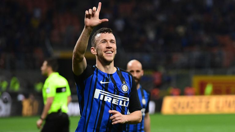 Perisic has been at Inter Milan since 2015