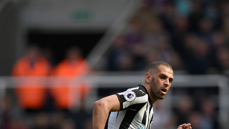 Islam Slimani has been charged by the FA