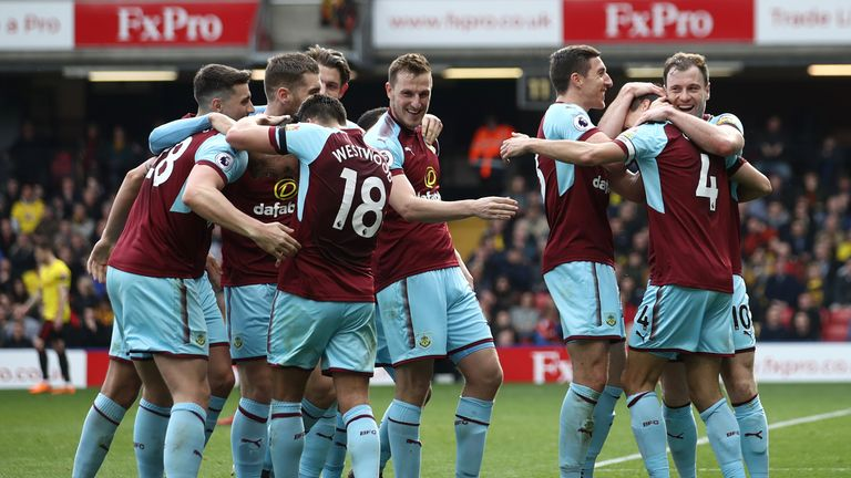Burnley face Leicester up next in the Premier League, at 3pm on Saturday