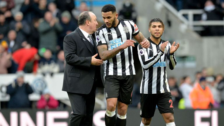 Jamaal Lascelles' sole focus is improving his game, says boss Rafael Benitez