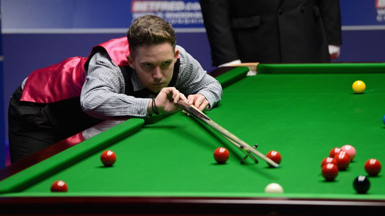 Jamie Jones shocked Shaun Murphy at the Crucible