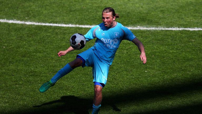Jeroen van der Lely scored in FC Twente's win over PEC Zwolle