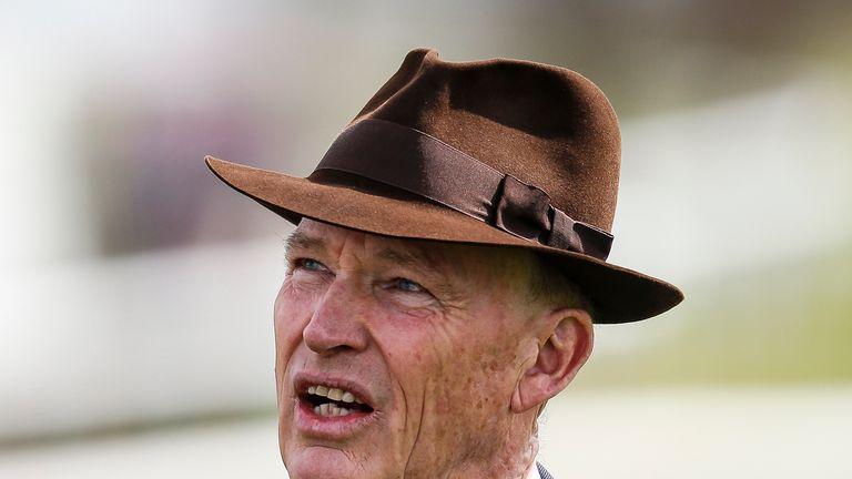 John Gosden at Newmarket racecourse