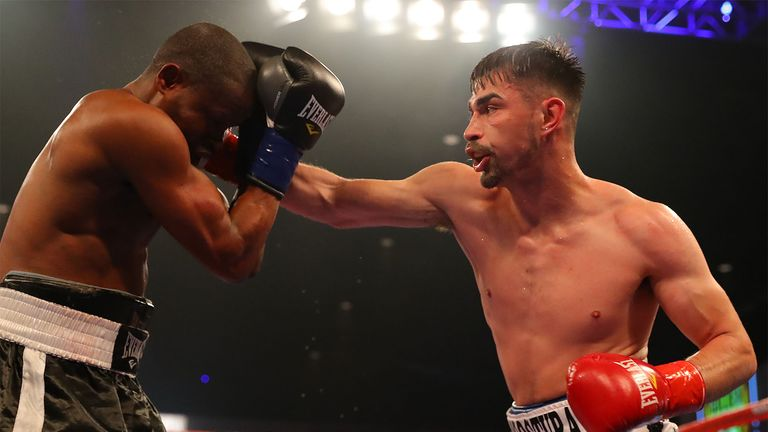 Golden Boy's Jonathan Navarro holds a 14-fight unbeaten record