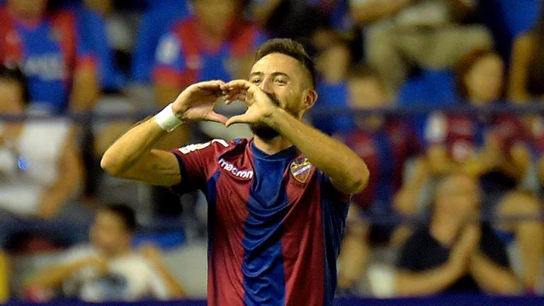 Jose Luis Morales scored in Levante's 3-1 win at Athletic Bilbao