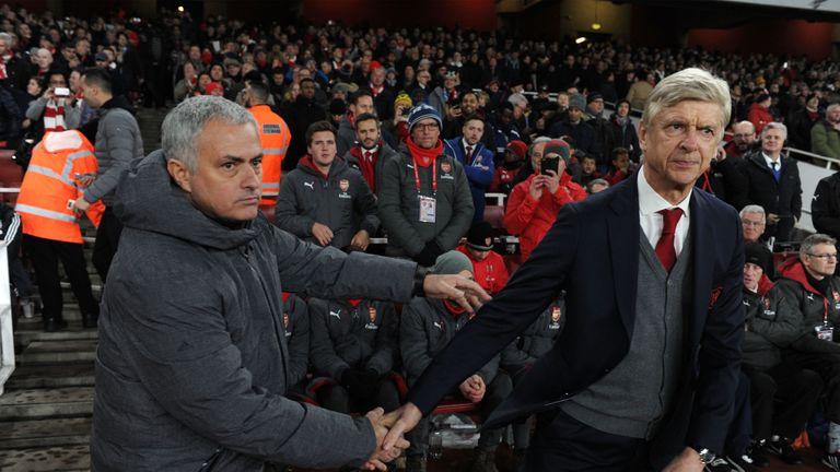 Arsene Wenger and Jose Mourinho will clash again on Super Sunday