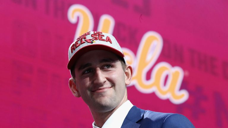 Josh Rosen's NFL career has not gone to plan since he was taken with the No 10 pick the  2018 NFL Draft