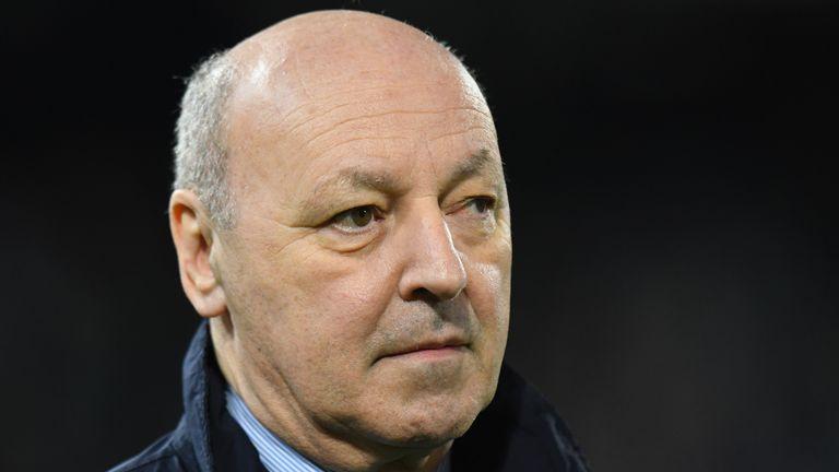 Juventus general manager Giuseppe Marotta