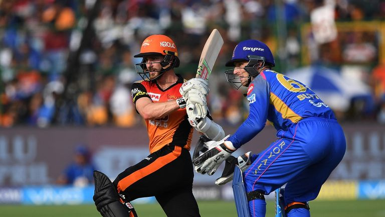 Class act Kane Williamson joins Yorkshire after a spell as captain of Sunrisers Hyderabad in the IPL (Credit: AFP)
