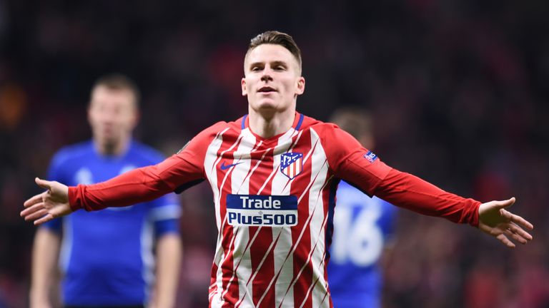 Kevin Gameiro scored the only goal of the game for Atletico Madrid