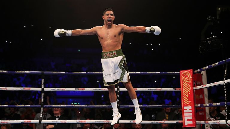 Khan defeated Phil Lo Greco inside 40 seconds on Saturday