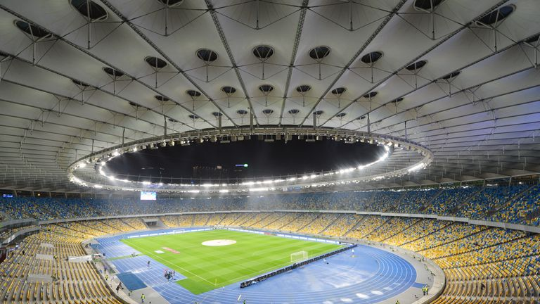The Olympic stadium is 210 miles from the original venue